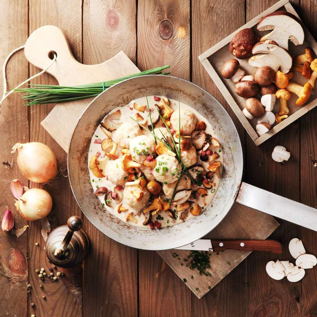 Imaginea rețetei Găluște din ciuperci