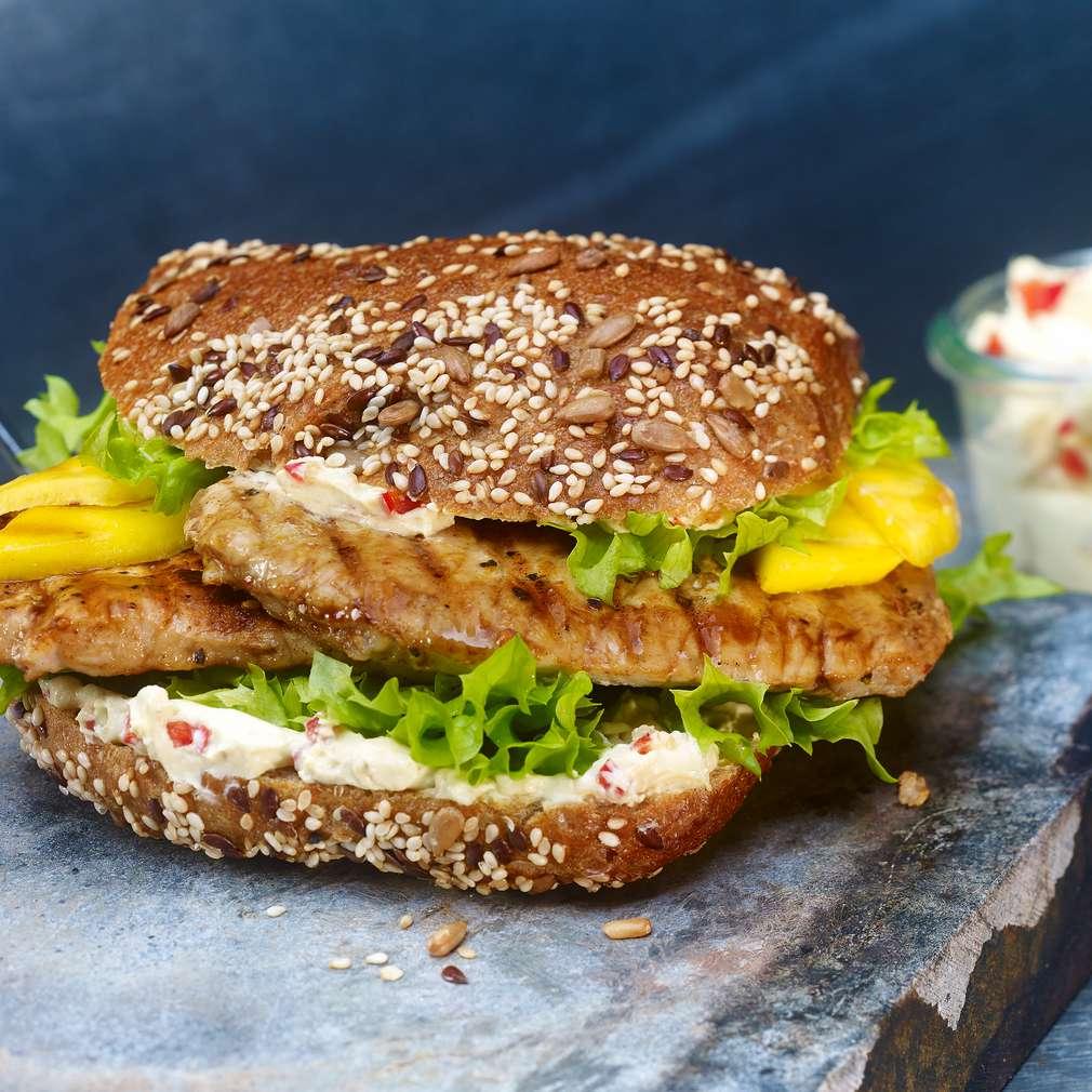 Abbildung des Rezepts Baguette-Burger