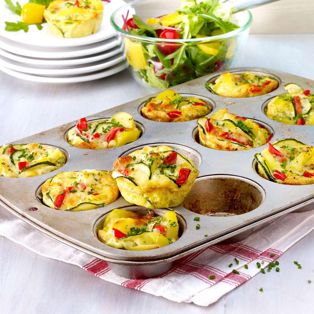 Abbildung des Rezepts Mini-Gemüse-Muffins