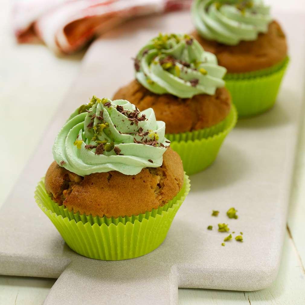Abbildung des Rezepts Matcha-Cupcakes