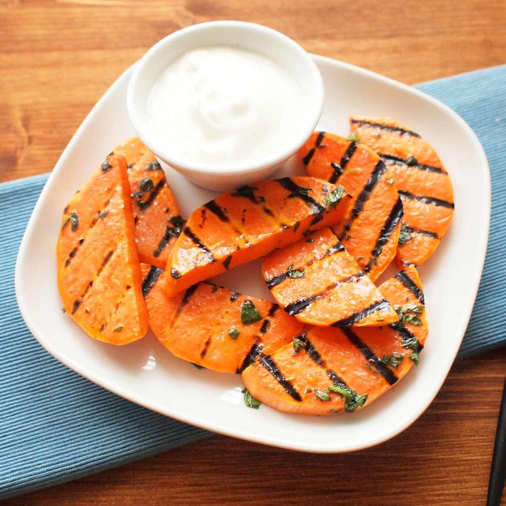 Zobrazit Grilované sladké brambory receptů