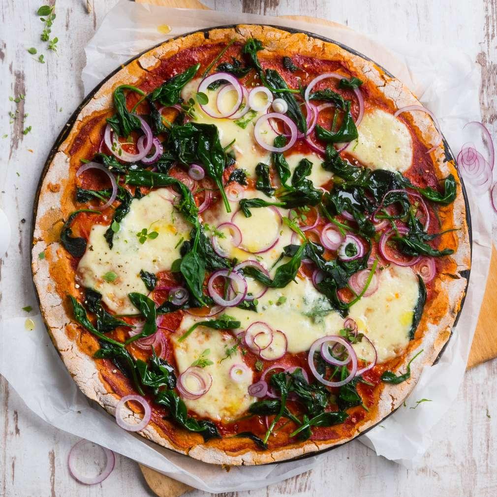 Abbildung des Rezepts Süßkartoffelpizza
