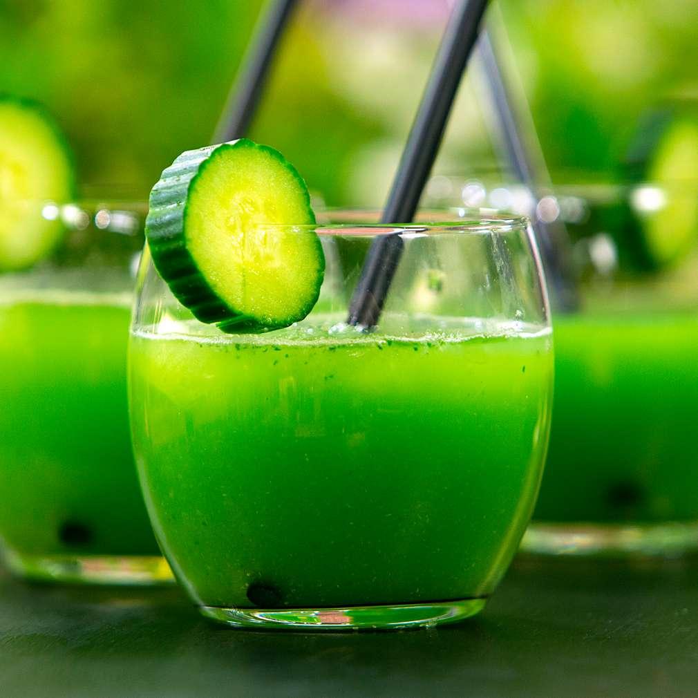 Изобразяване на рецептата Зелен коктейл