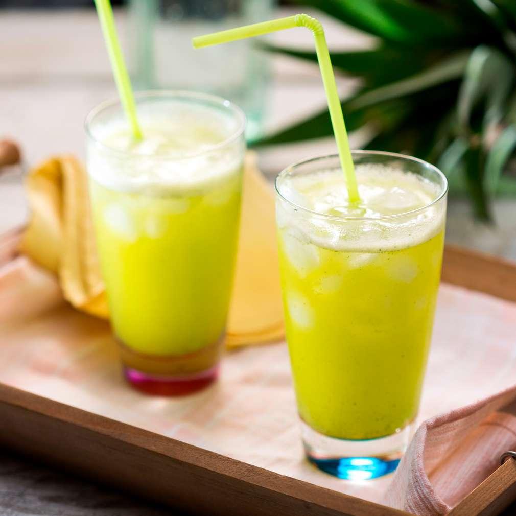 Изобразяване на рецептата Напитка с ананас и мента