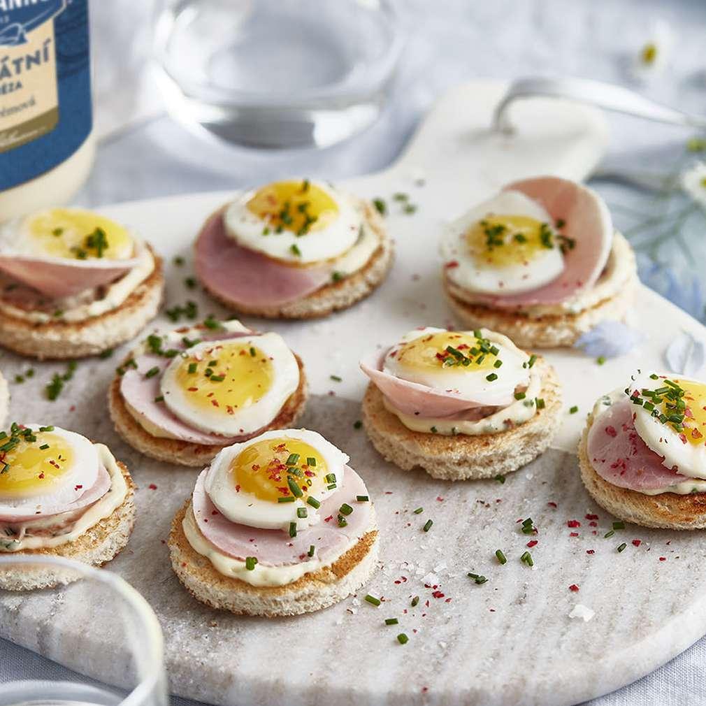 """Zobrazit Kanapky """"vejce Benedikt"""" receptů"""