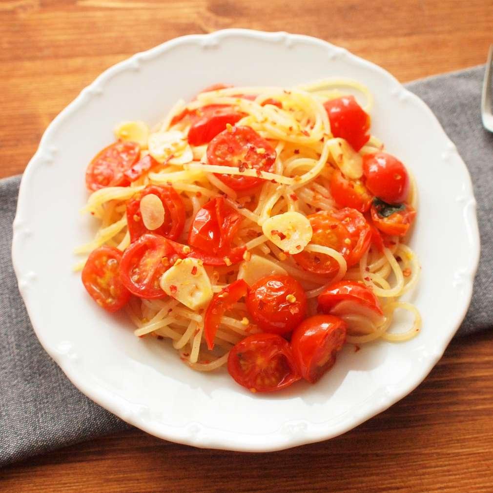 Zobrazit Rychlé špagety s rajčaty receptů