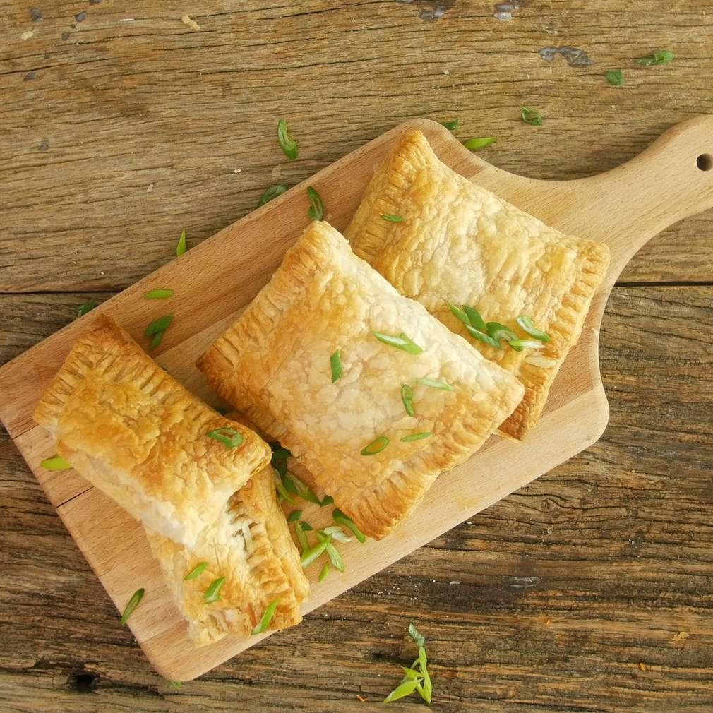 Fotografija recepta Lisnate torbice s povrćem