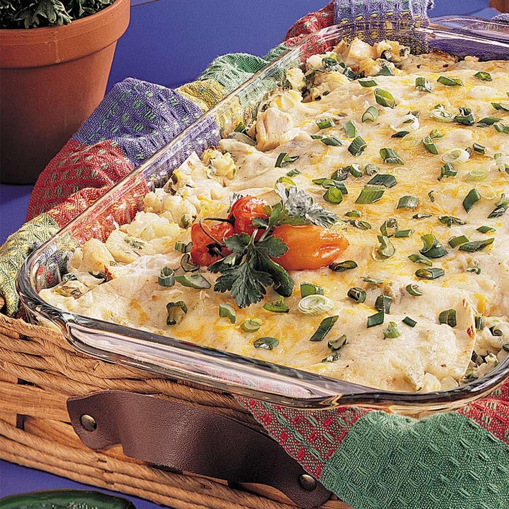 Imaginea rețetei Lasagna cu pui și cașcaval