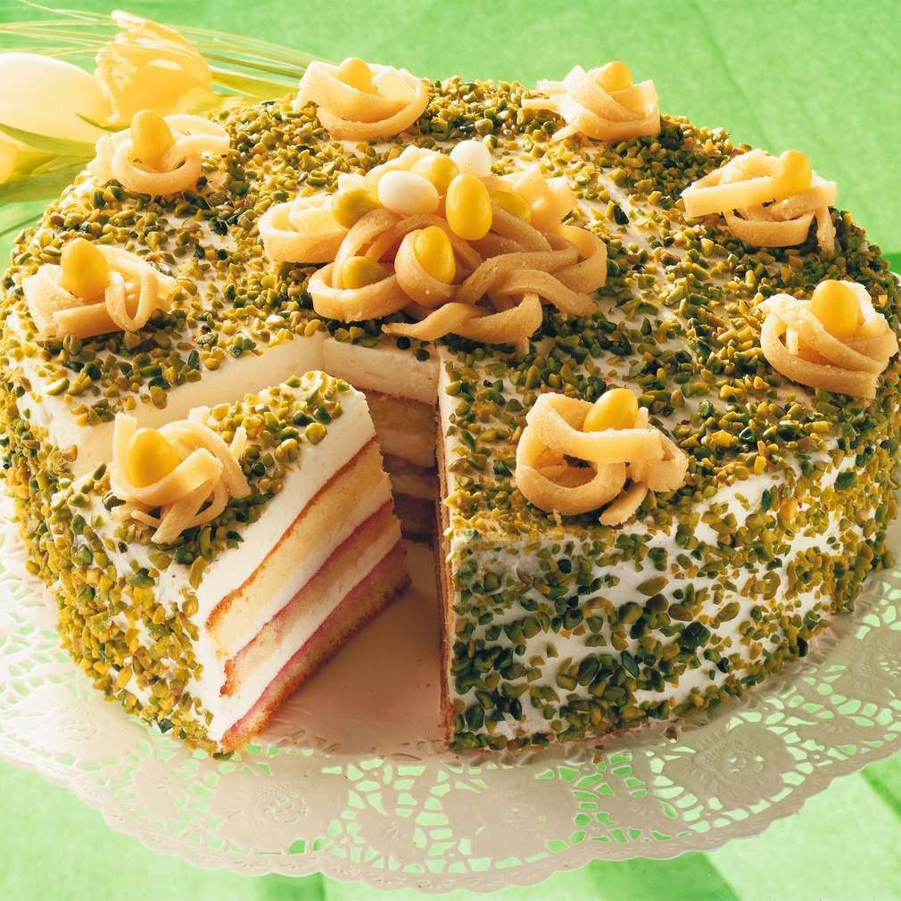 Zobrazit Velikonoční dort s marcipánem receptů
