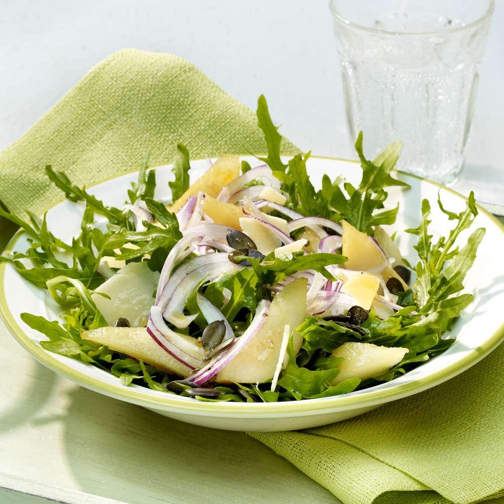 Zobrazit Hruškový salát s rukolou receptů