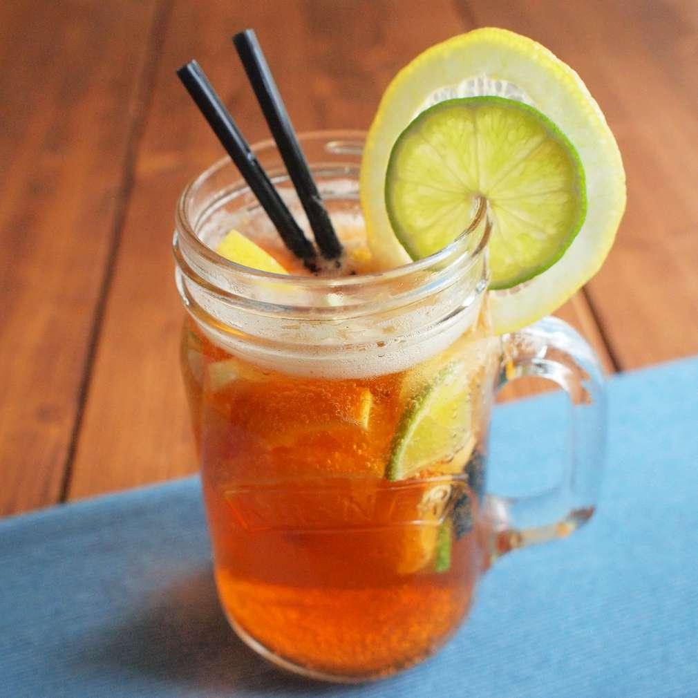 Zobrazit Pivní sangria s citrusy receptů