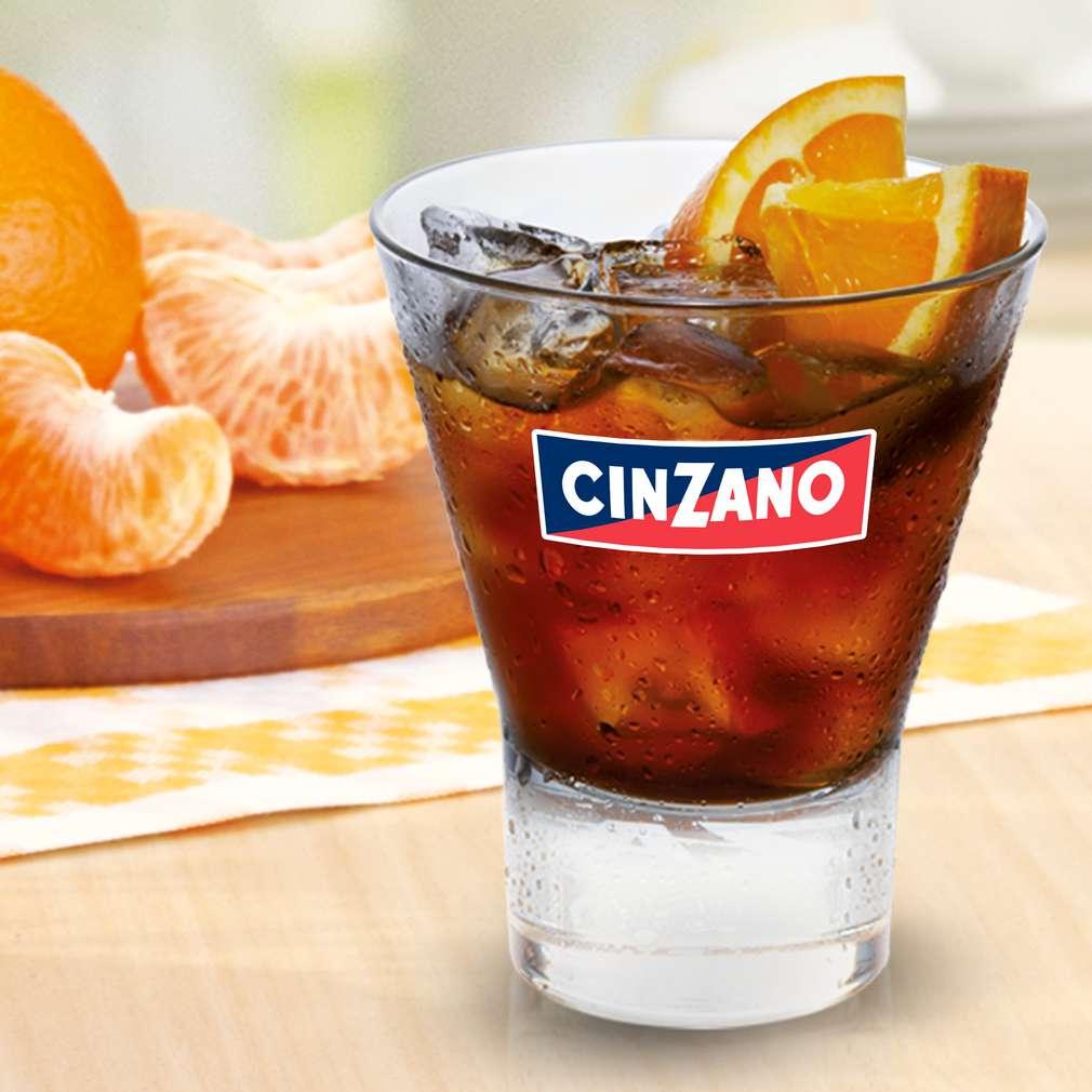Zobrazit Cinzano Rosso na ledu receptů