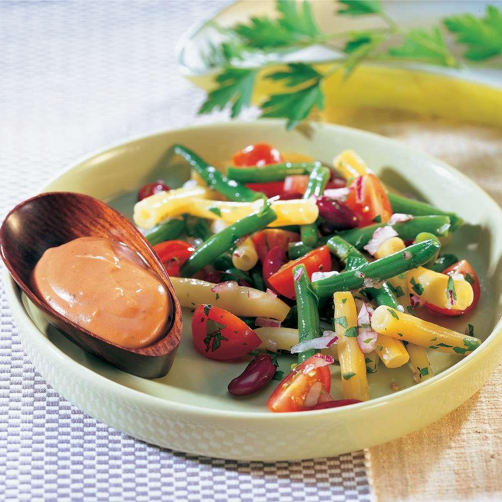 Salată din trei feluri de fasole