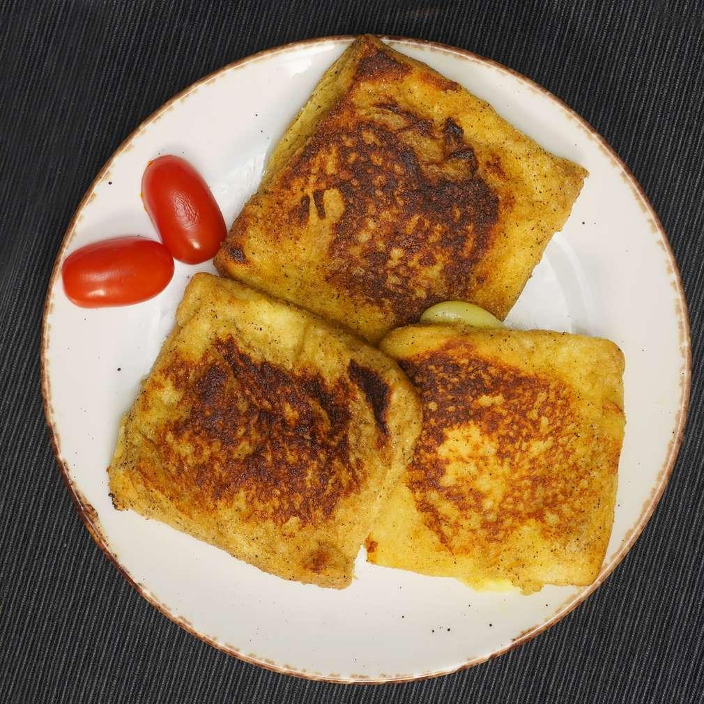 Изобразяване на рецептата Сандвичи джобчета с шунка и сирене