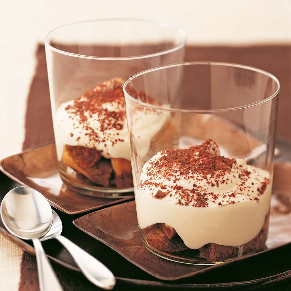 Tiramisu cu ricotta și iaurt