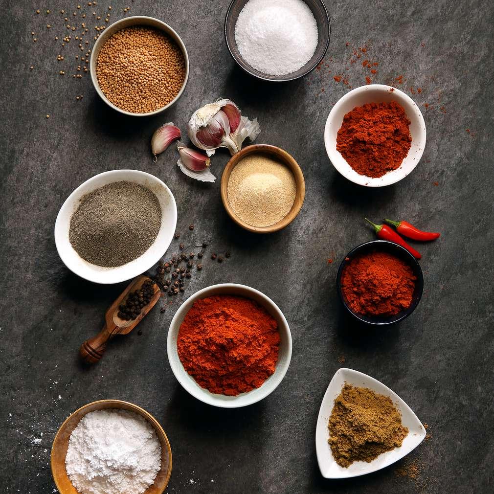 Condimente pentru grătar