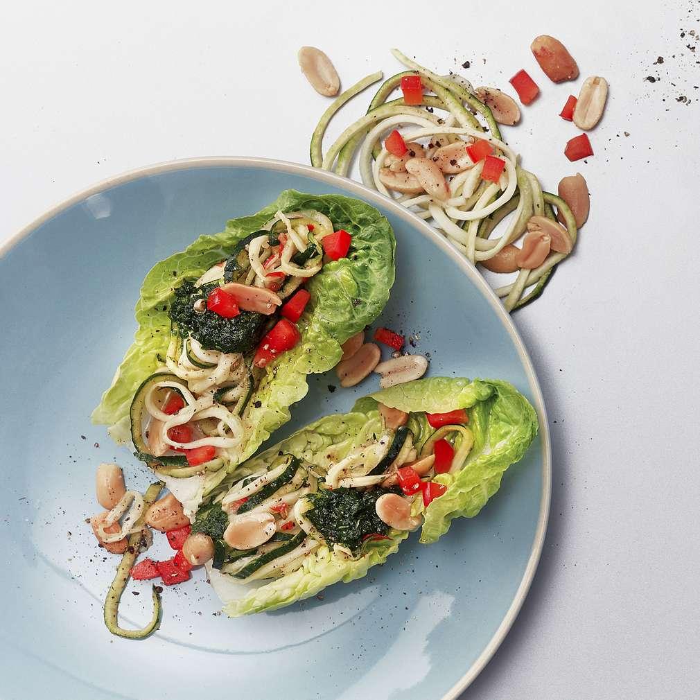 Imaginea rețetei Spaghete de zucchini marinat