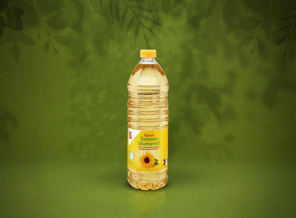 Sonnenblumenöl von K-Classic in der PET-Flasche