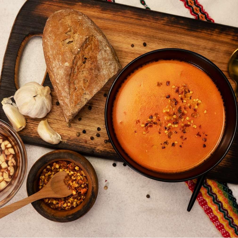 Изобразяване на рецептата Шкембе чорба