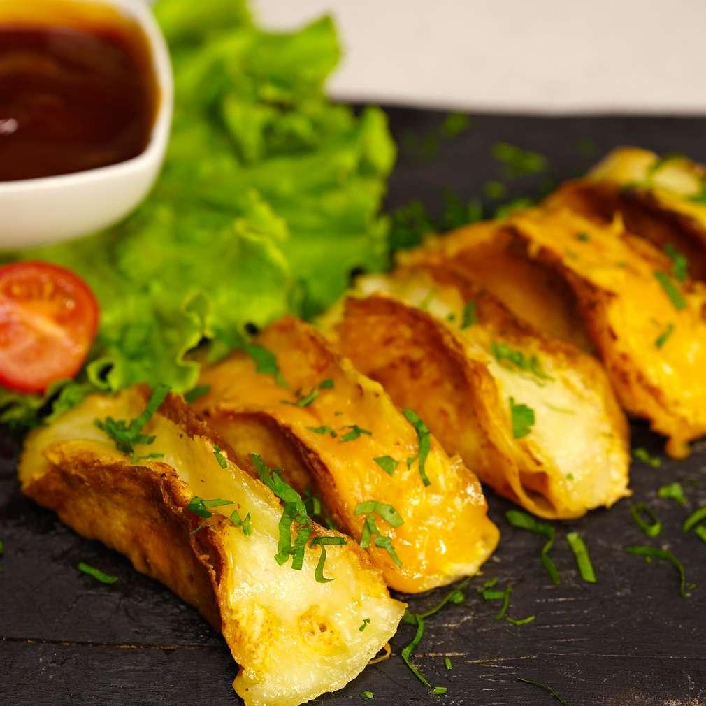 Изобразяване на рецептата Мини такос с пилешко