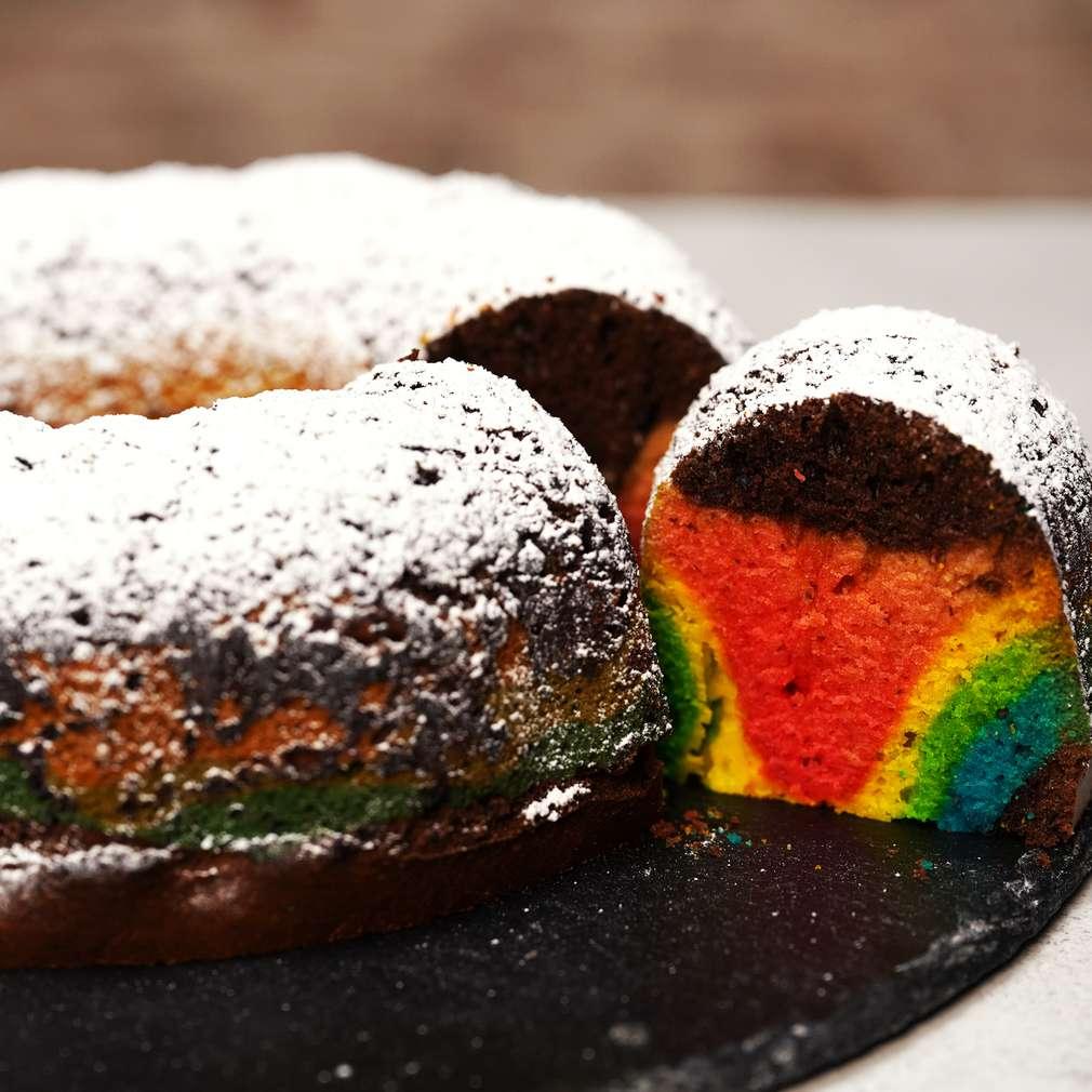 Изобразяване на рецептата Шарен кекс