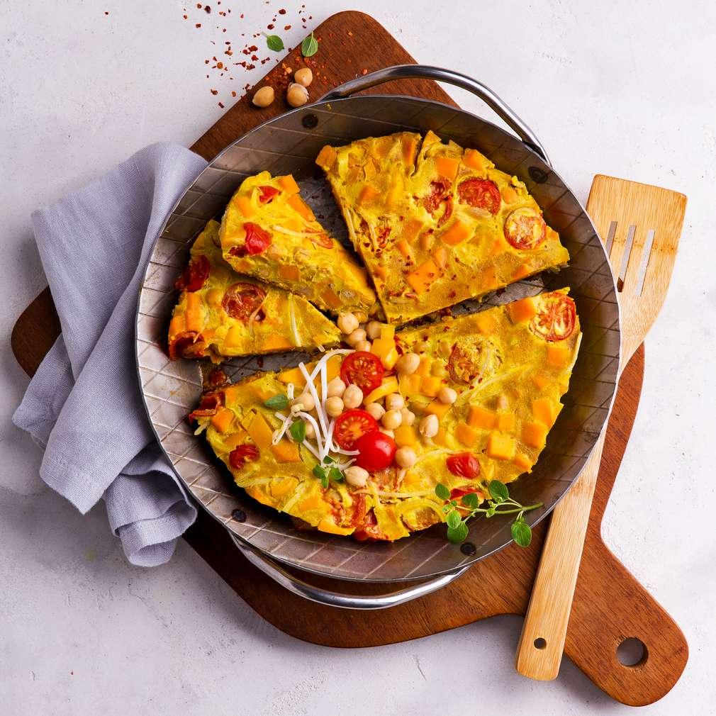 Abbildung des Rezepts Süßkartoffel-Curry-Omelett