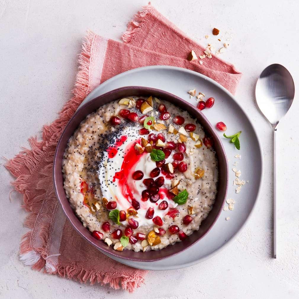 Abbildung des Rezepts Granatapfel-Mohn-Porridge