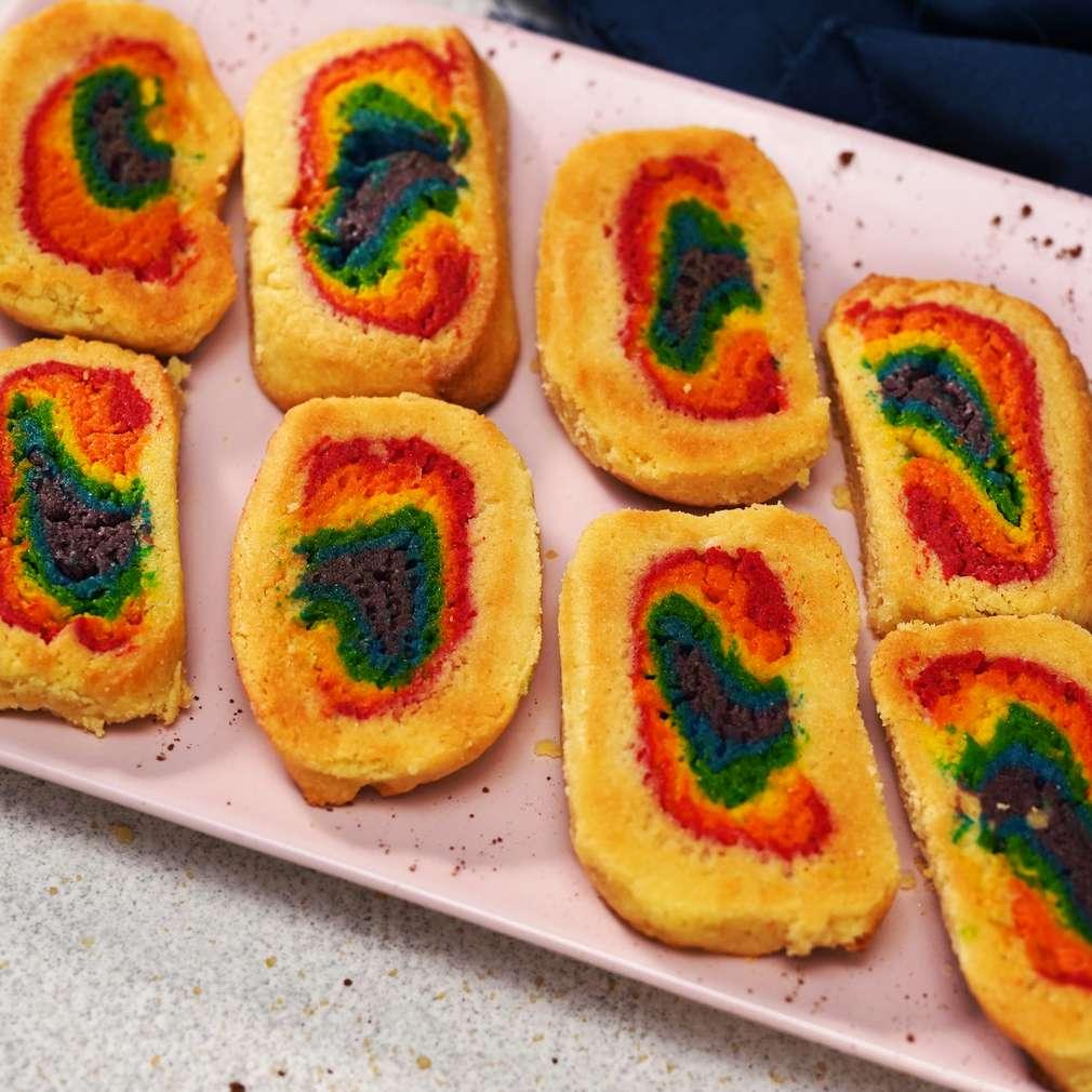Изобразяване на рецептата Шарени маслени бисквити