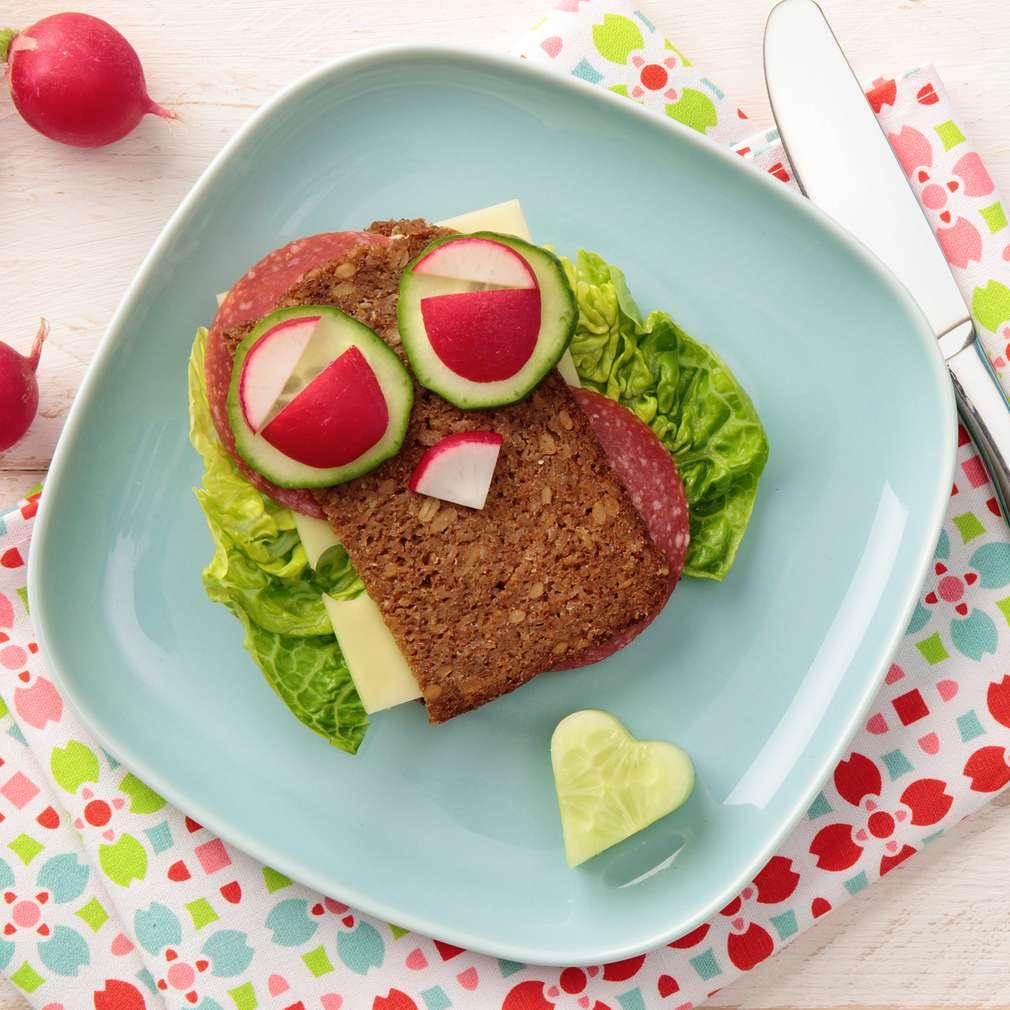 Fotografija recepta Dječji sendvič za užinu