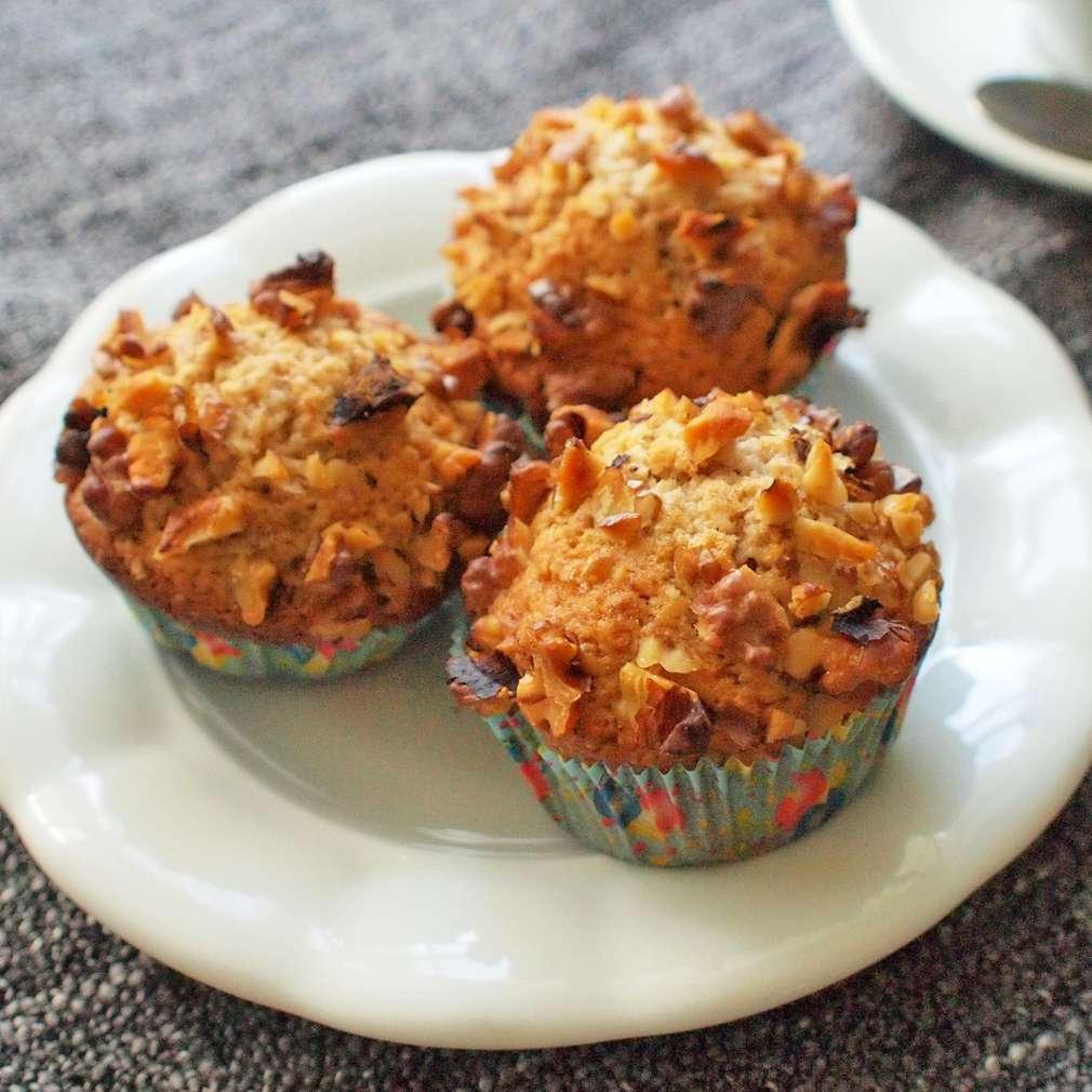 Zobrazit Muffiny s vlašskými ořechy receptů