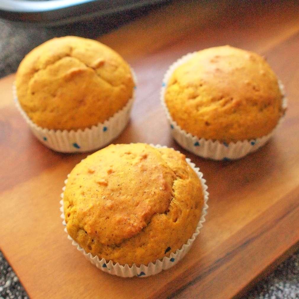 Zobrazit Dýňové muffiny se skořicí receptů