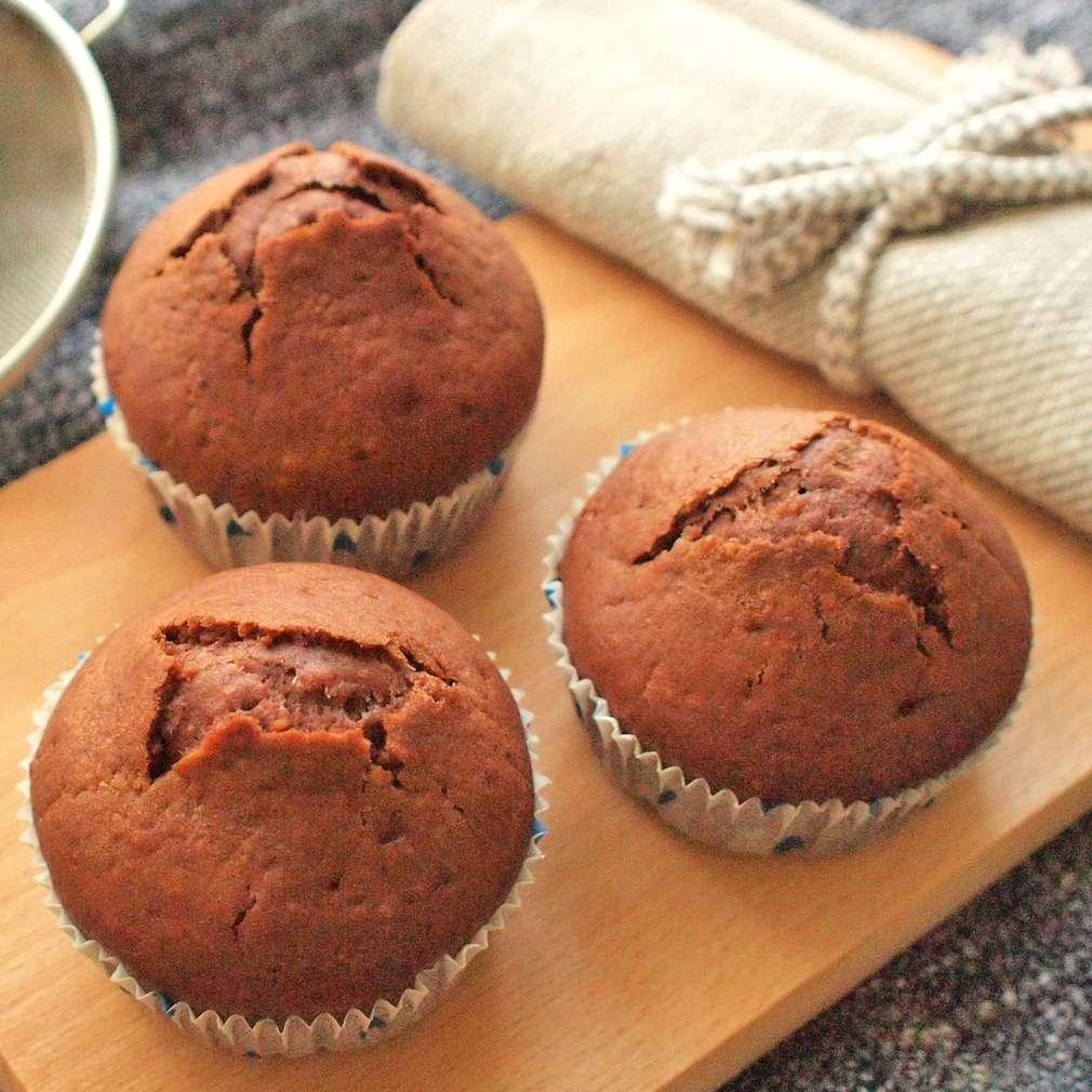 Zobrazit Čokoládové moka muffiny receptů