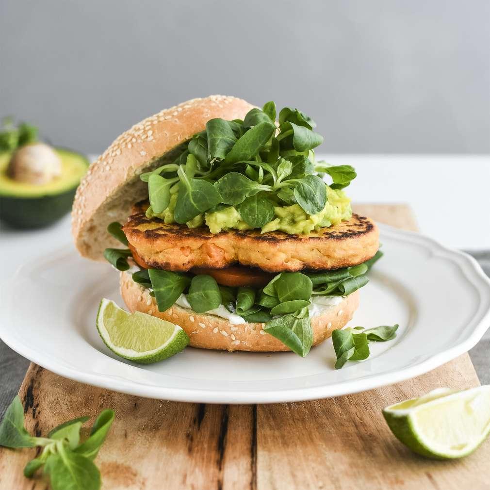 Zobrazenie receptu Vegetariánsky burger