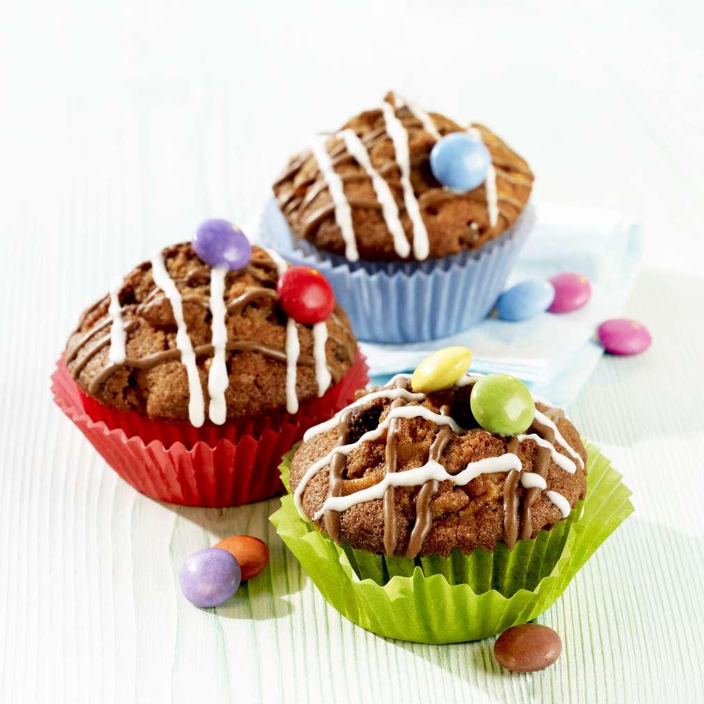 Zobrazit Čokoládovo-jablečné muffiny receptů
