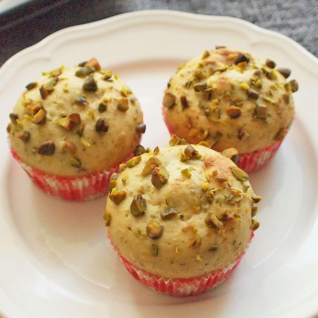 Zobrazit Pistáciové muffiny receptů