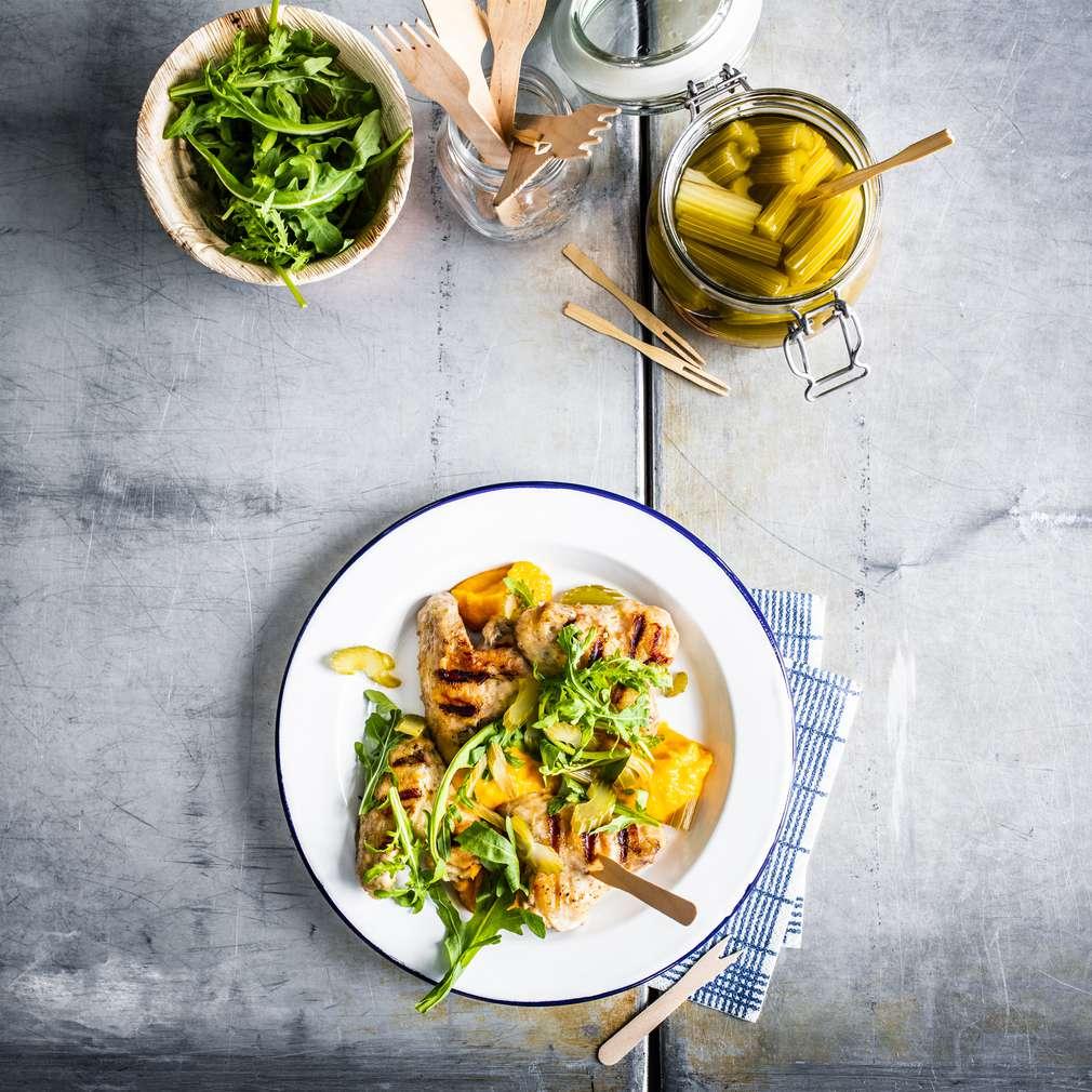 Zobrazenie receptu Kuracie krídelká s mrkvovým pyré