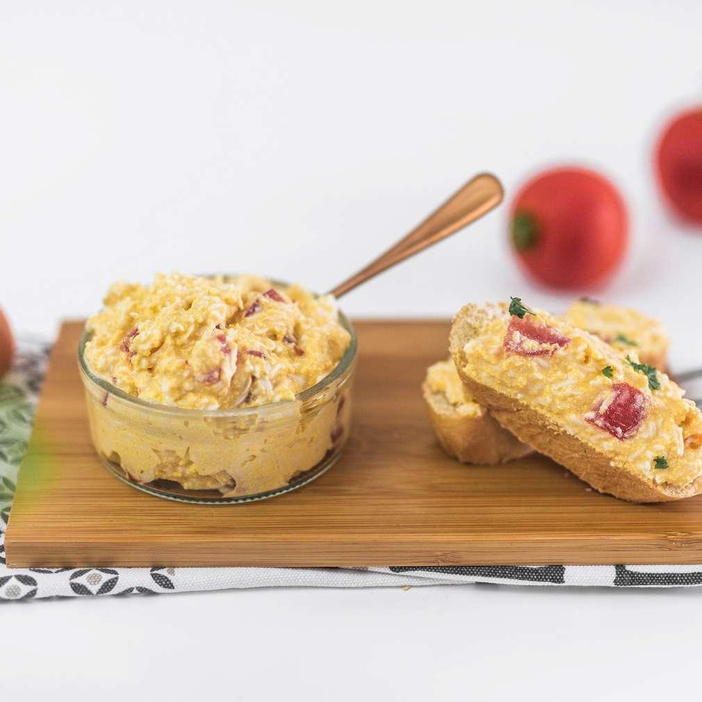 Zobrazenie receptu Vajíčková nátierka s paradajkou