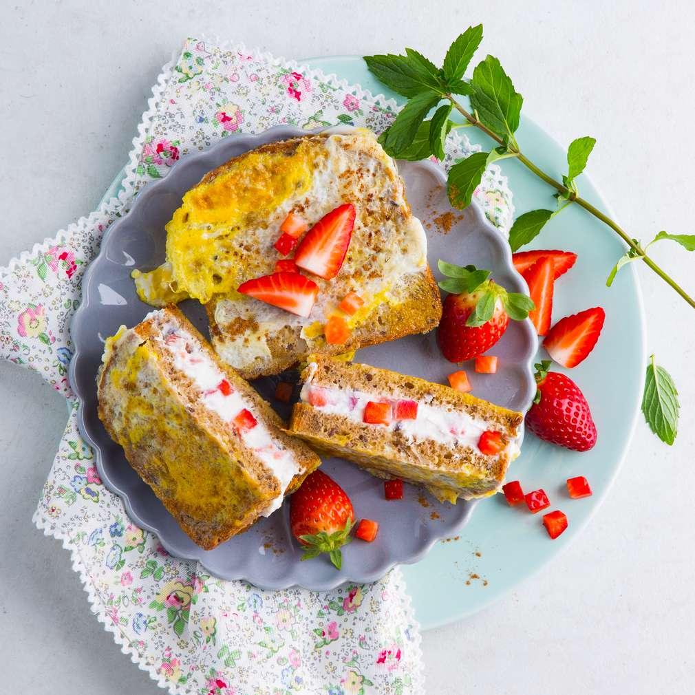 Abbildung des Rezepts Erdbeer-French-Toast