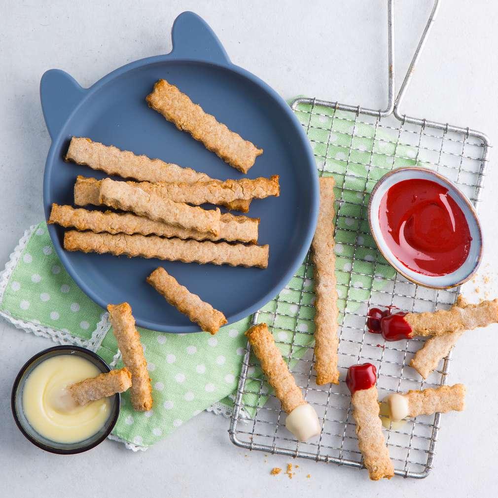 Abbildung des Rezepts Pommes-Plätzchen (Cookie fries)