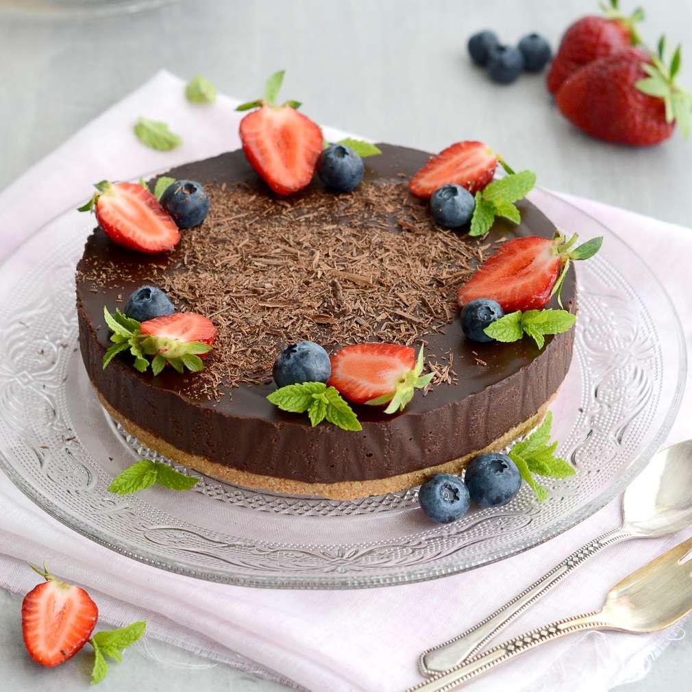 Zobrazenie receptu Nepečená čokoládová torta