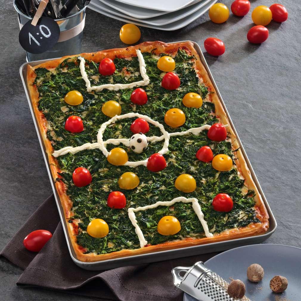 Abbildung des Rezepts Fußballfeld-Pizza
