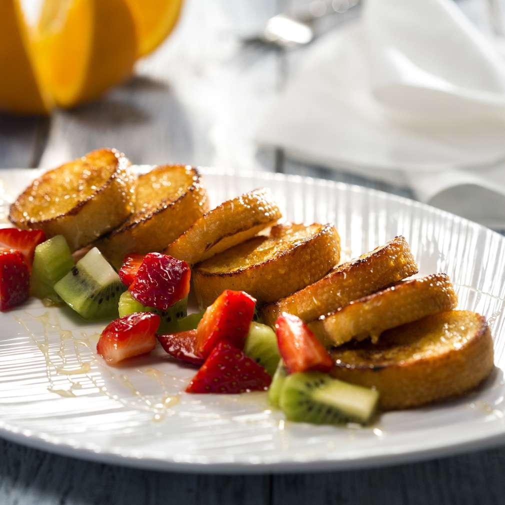 Изобразяване на рецептата Пържени филийки с портокалов вкус