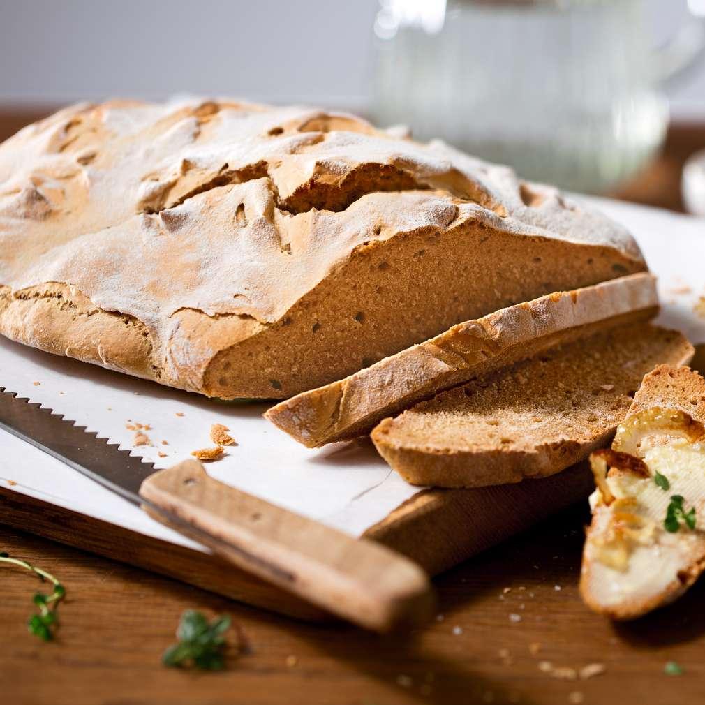 Imaginea rețetei Pâine de casă cu bere din malț