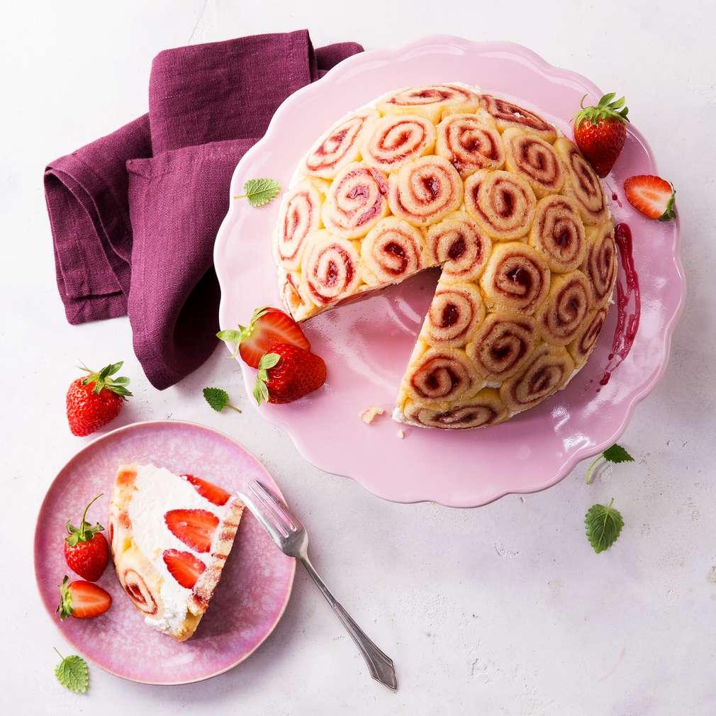 Abbildung des Rezepts Erdbeercharlotte