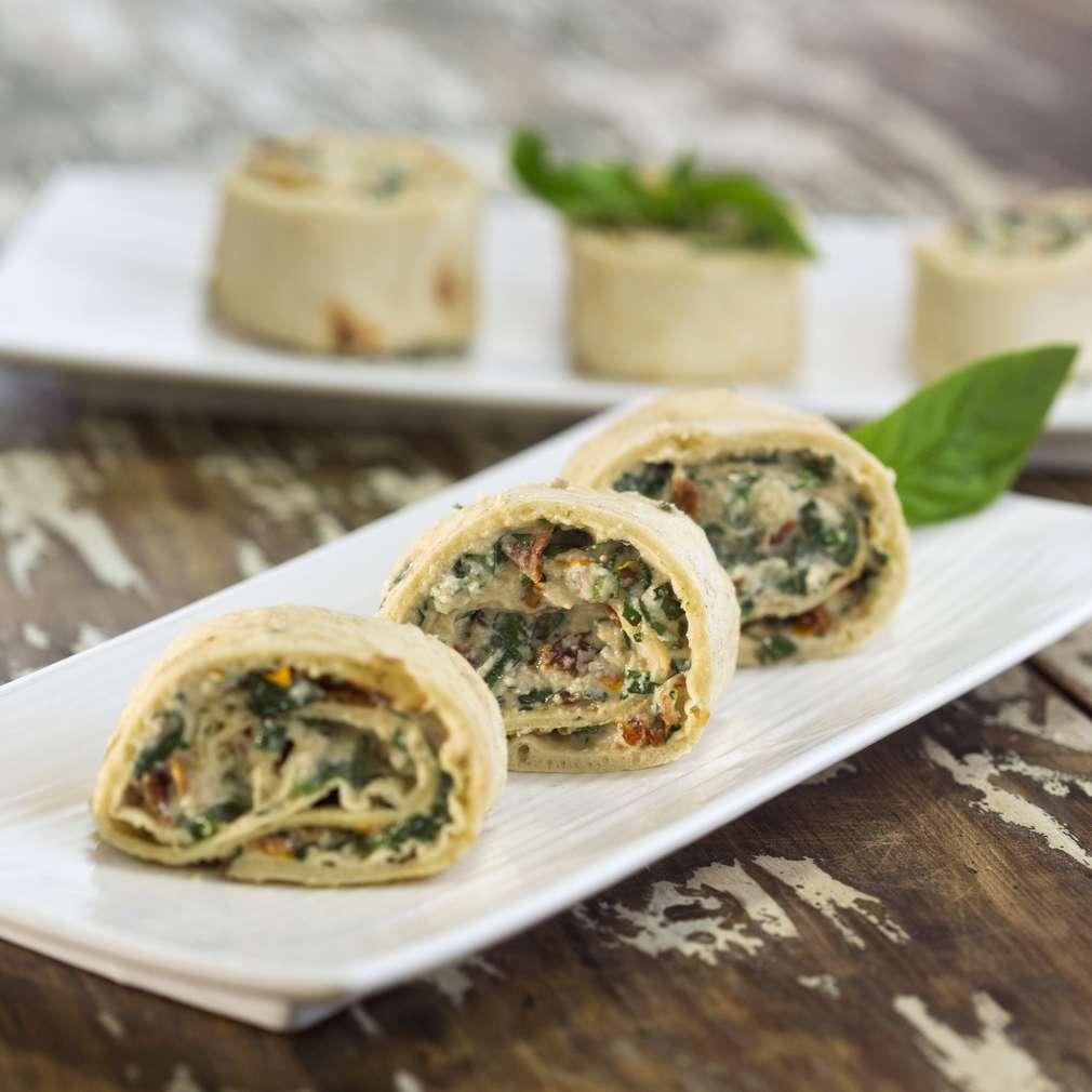 Изобразяване на рецептата Постни тортили със зеленчуци