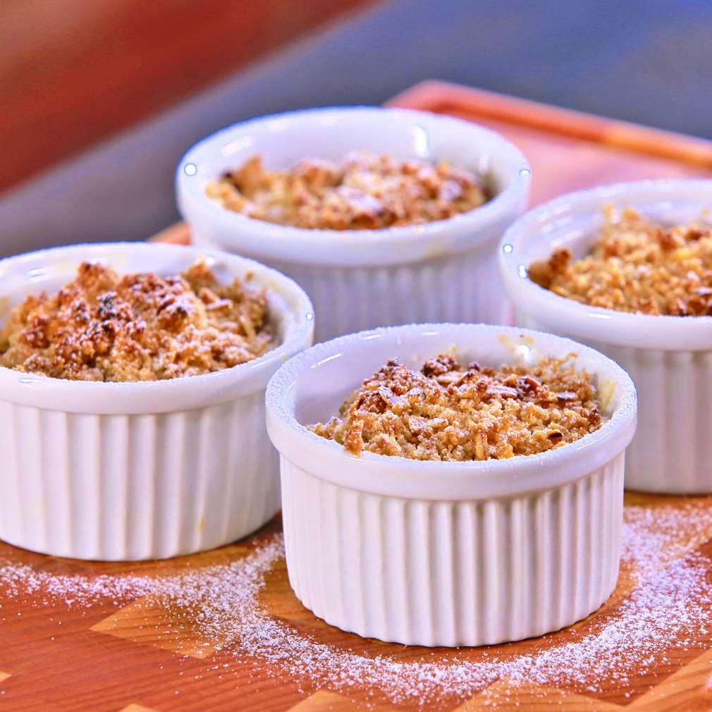 Zobrazit Jablečný crumble v misce receptů