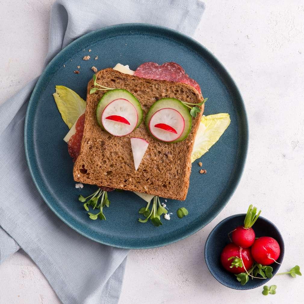 Abbildung des Rezepts Eulen-Sandwich