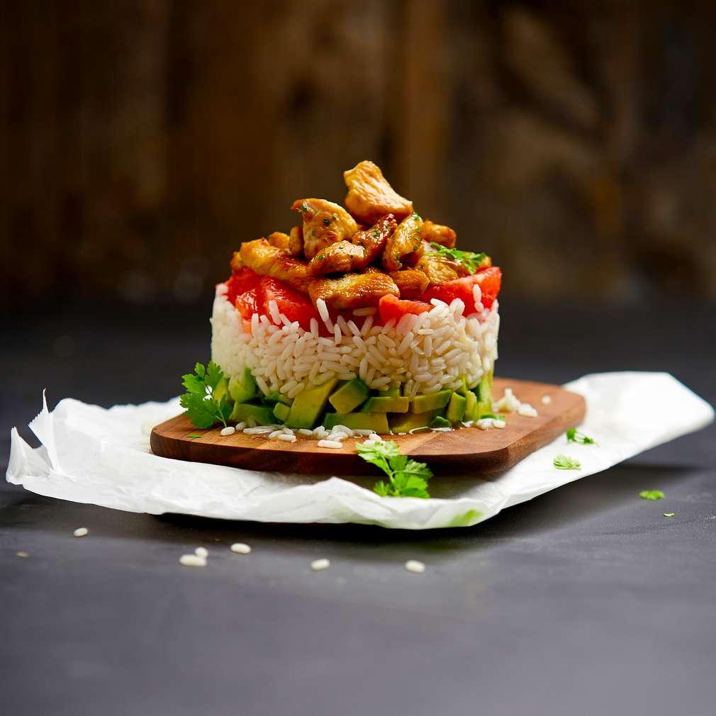 Abbildung des Rezepts Reissalat mit Grapefruit