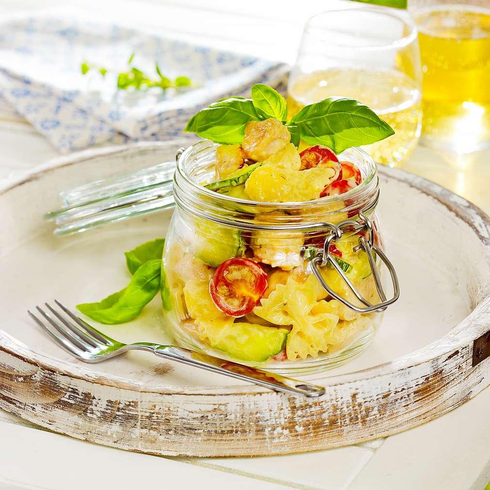 Abbildung des Rezepts Bunter Farfalle-Salat