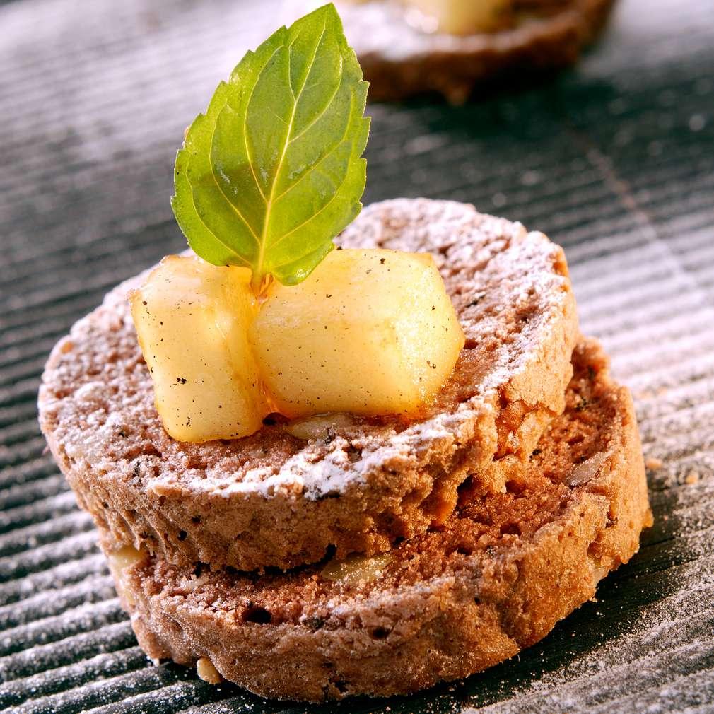 Изобразяване на рецептата Ябълково брауни